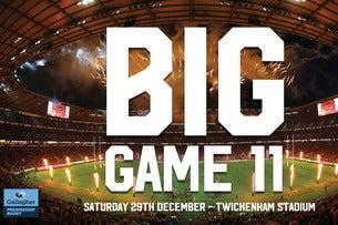 Big Game 11: Harlequins v Wasps Seating Plan Twickenham Stadium