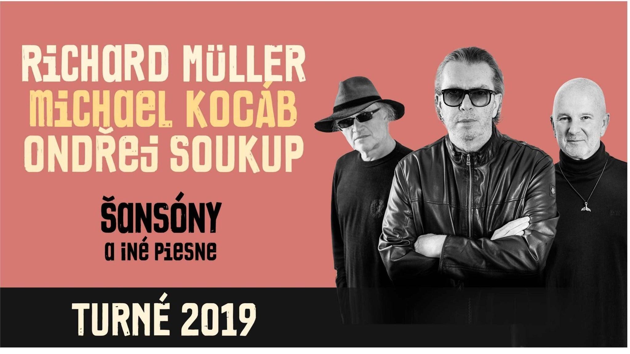 Richard Müller, Michael Kocáb, Ondřej Soukup: Šansóny a iné piesne