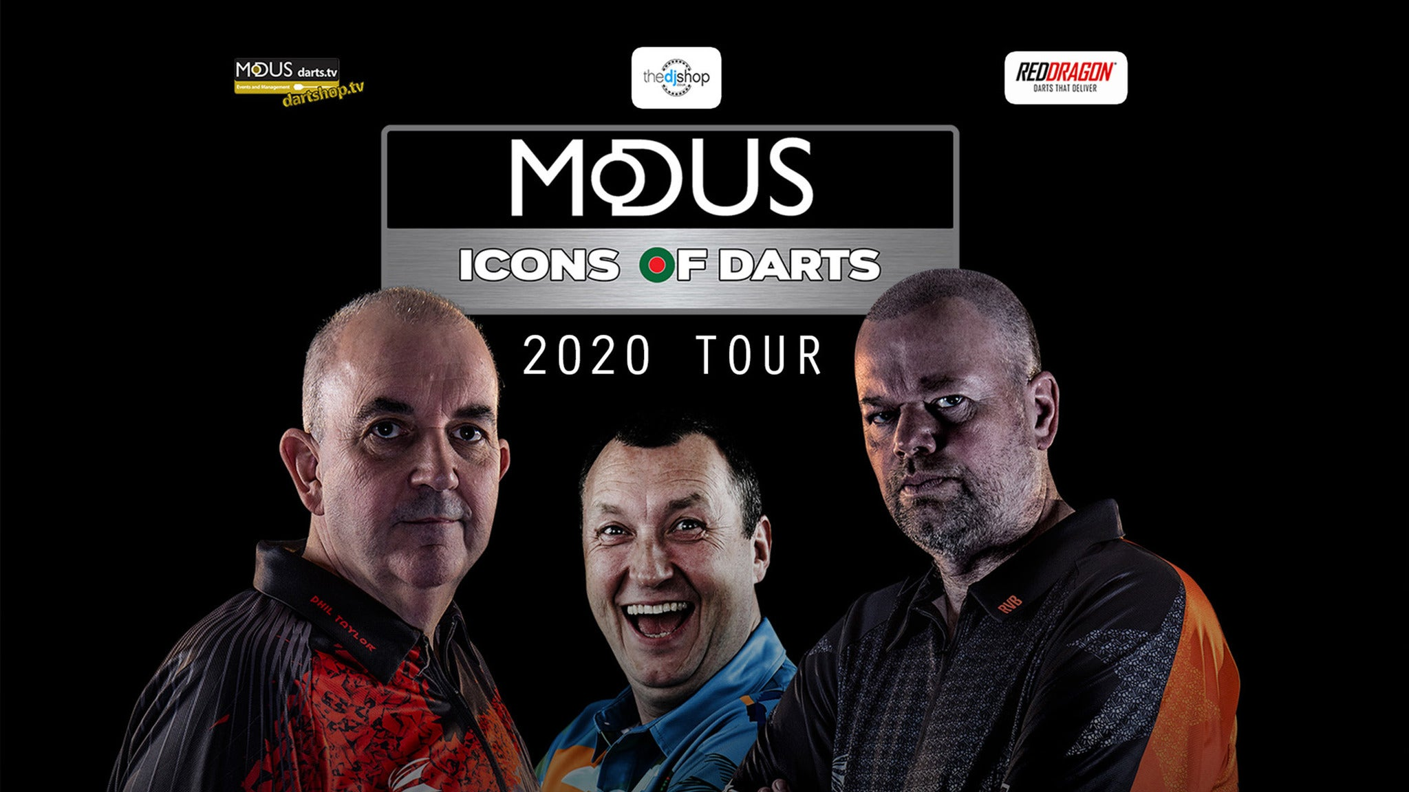 Modus Icons of Darts 2020 Tour tickets (Copyright © Ticketmaster)