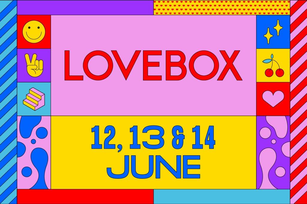 LoveBox - Saturday Day Ticket