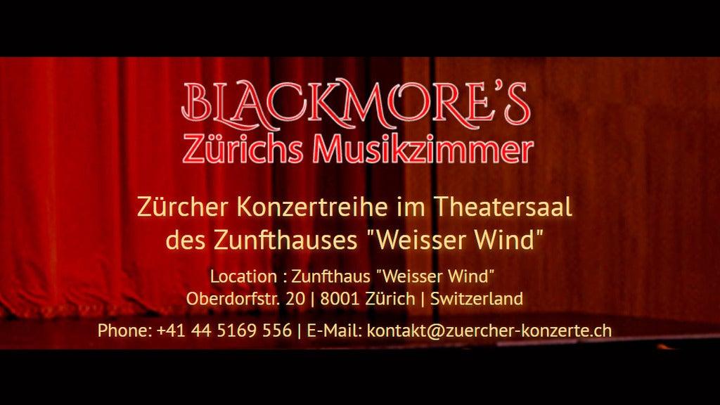 Blackmore's - Zürichs Musikzimmer