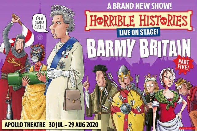 Hotels near Horrible Histories: Barmy Britain - Part Five Events