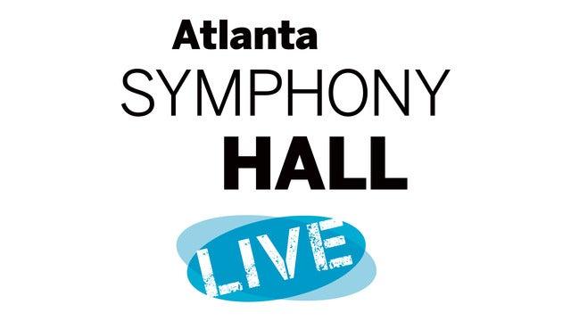 Atlanta Symphony Hall Live