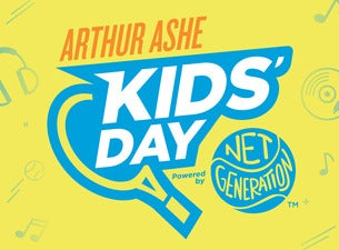 US Open Arthur Ashe Kids' Day
