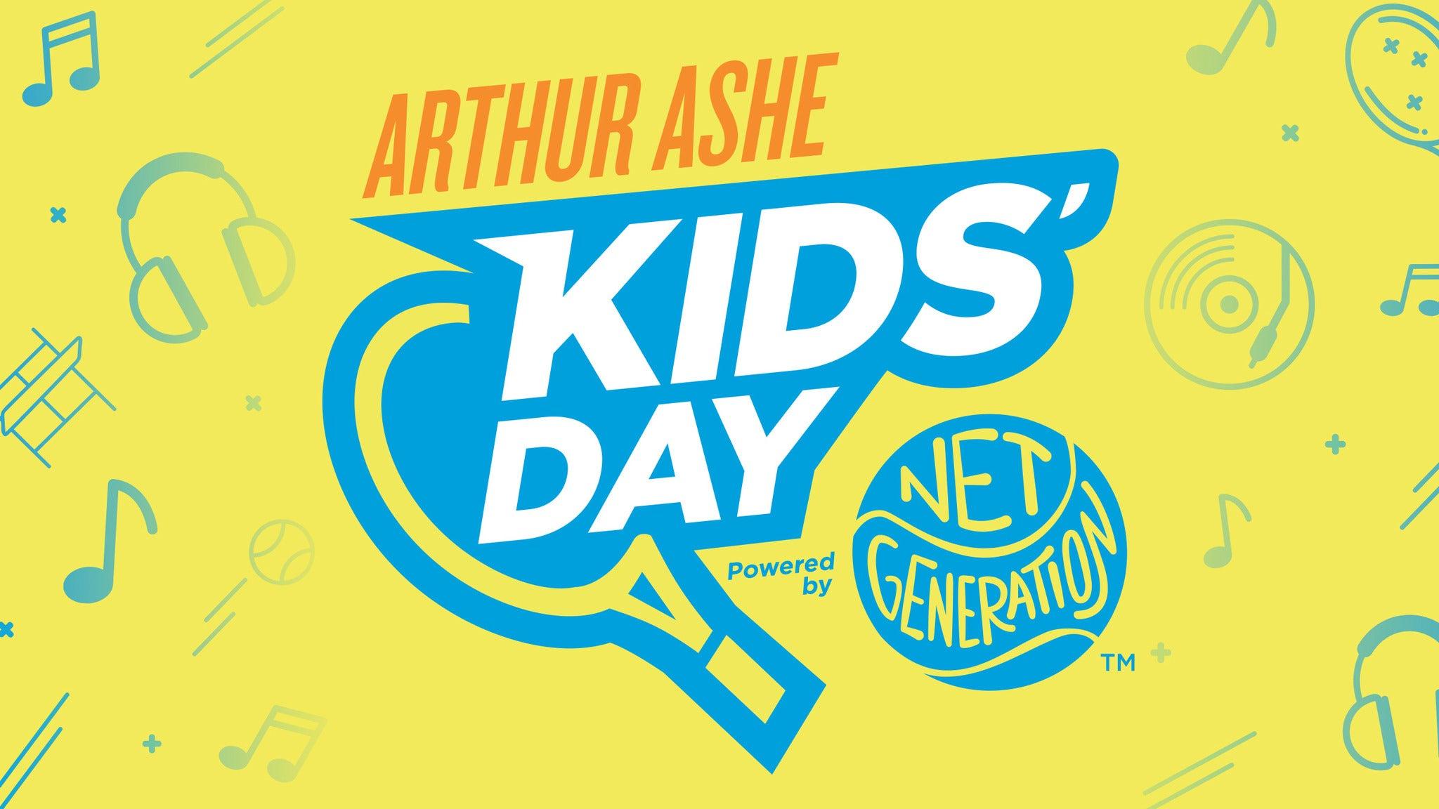 US Open Arthur Ashe Kids' Day