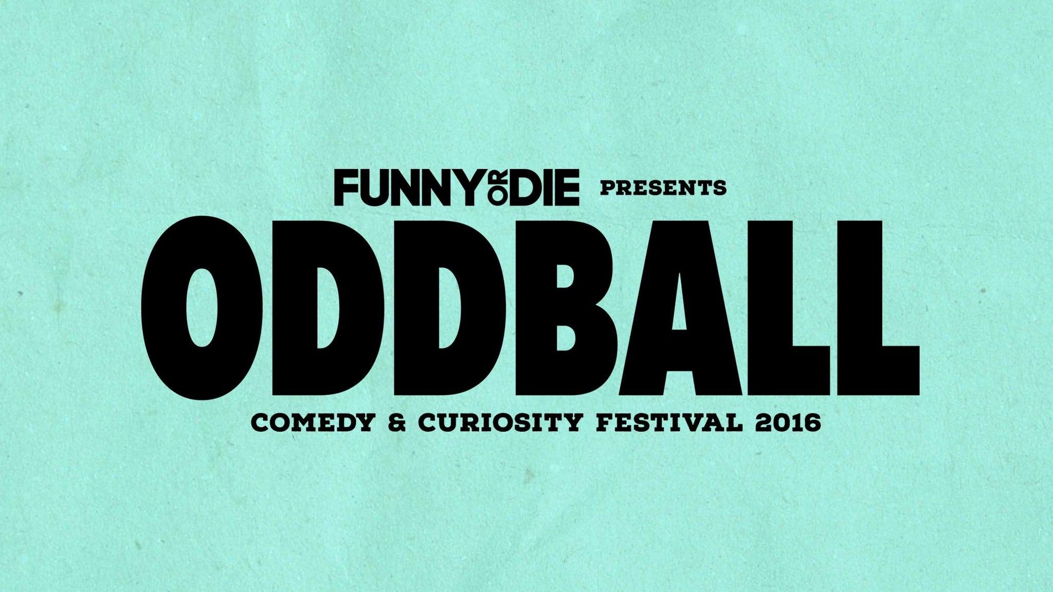 Premier Parking: Oddball Comedy Festival Aug 25, 2016