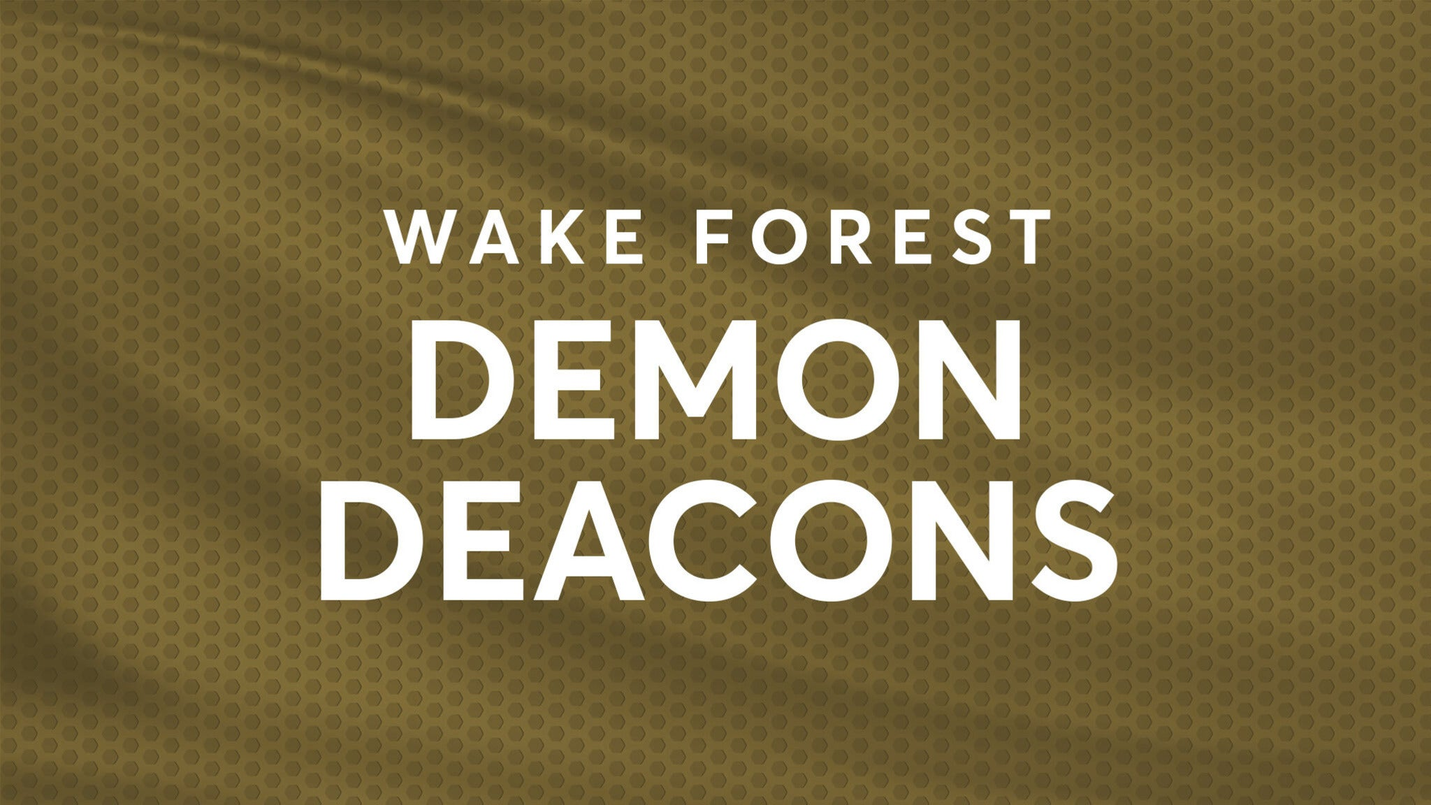 Wake Forest Demon Deacons Mens Basketball
