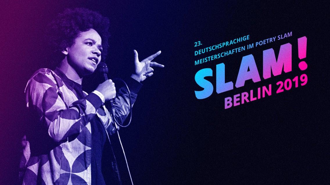 Slam 2019 - Deutschsprachige Meisterschaften im Poetry Slam