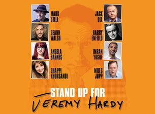Stand Up for Jeremy Hardy Seating Plans