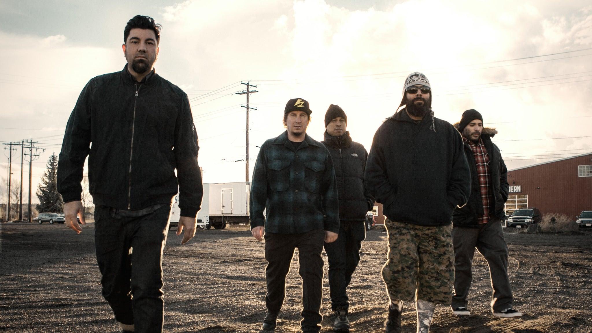 Deftones and Rise Against at Concord Pavilion
