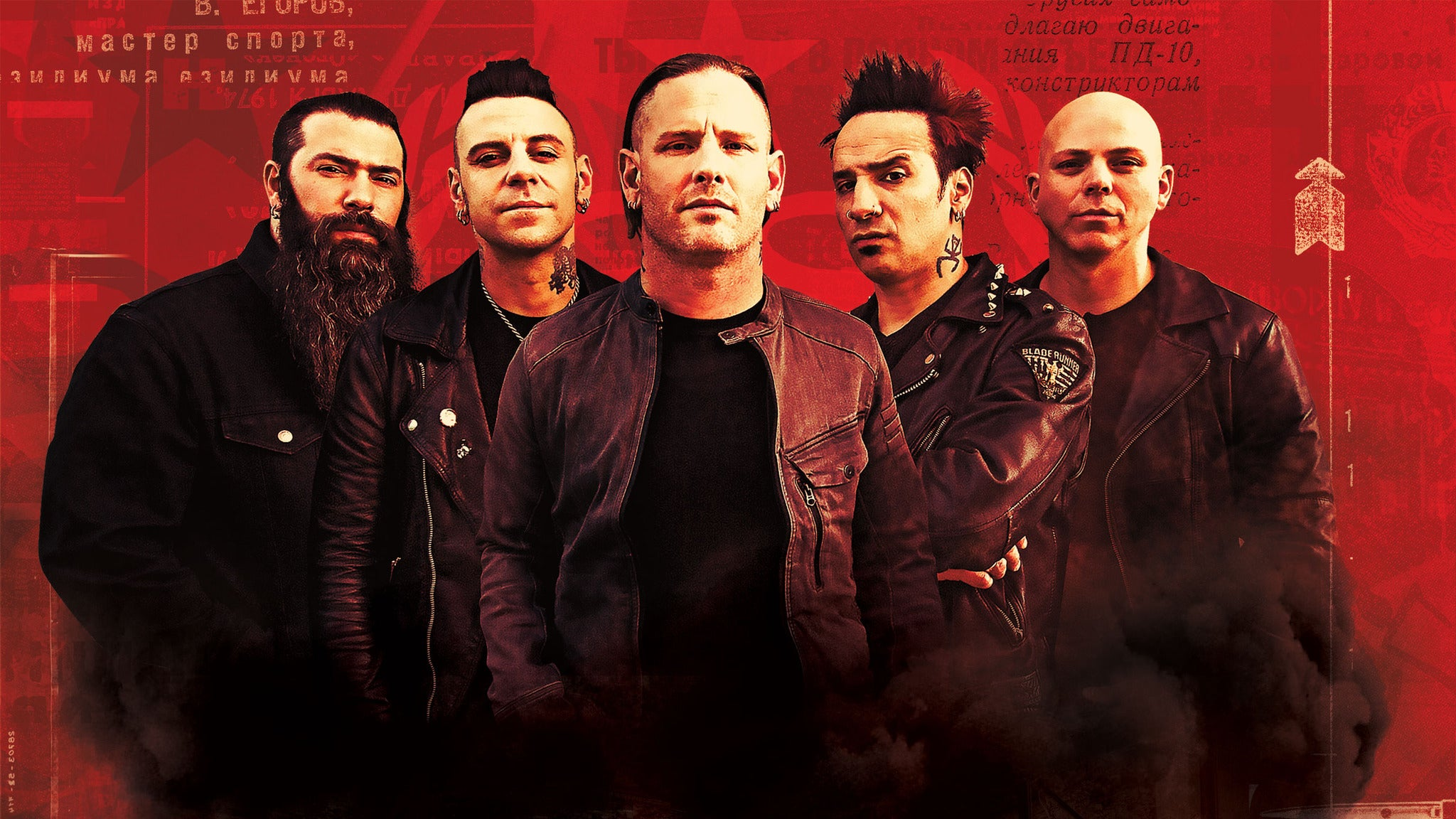 Stone Sour at Egyptian Room at Old National Centre