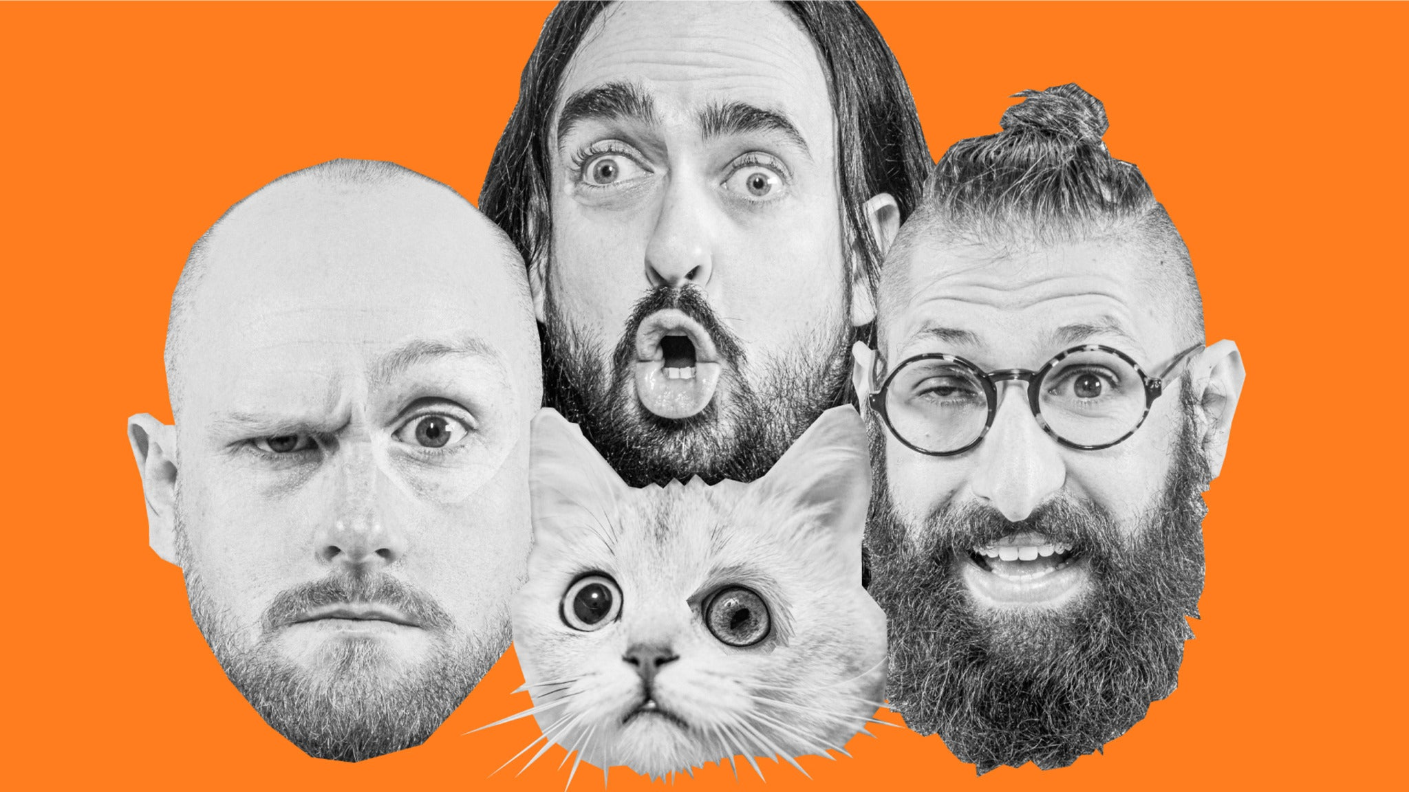 Image used with permission from Ticketmaster   Aunty Donna - The Magical Dead Cat Tour tickets
