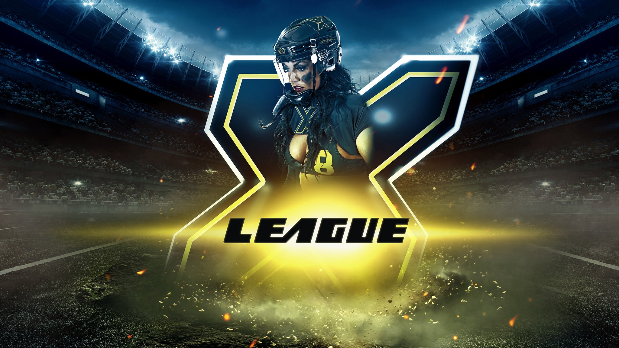 Extreme Football League: LA Black Storm v. Atlanta Empire
