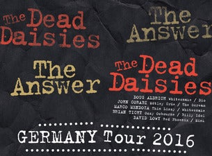 The Dead Daisies, Hookers & Blow featuring Dizzy Reed of Guns N' Roses