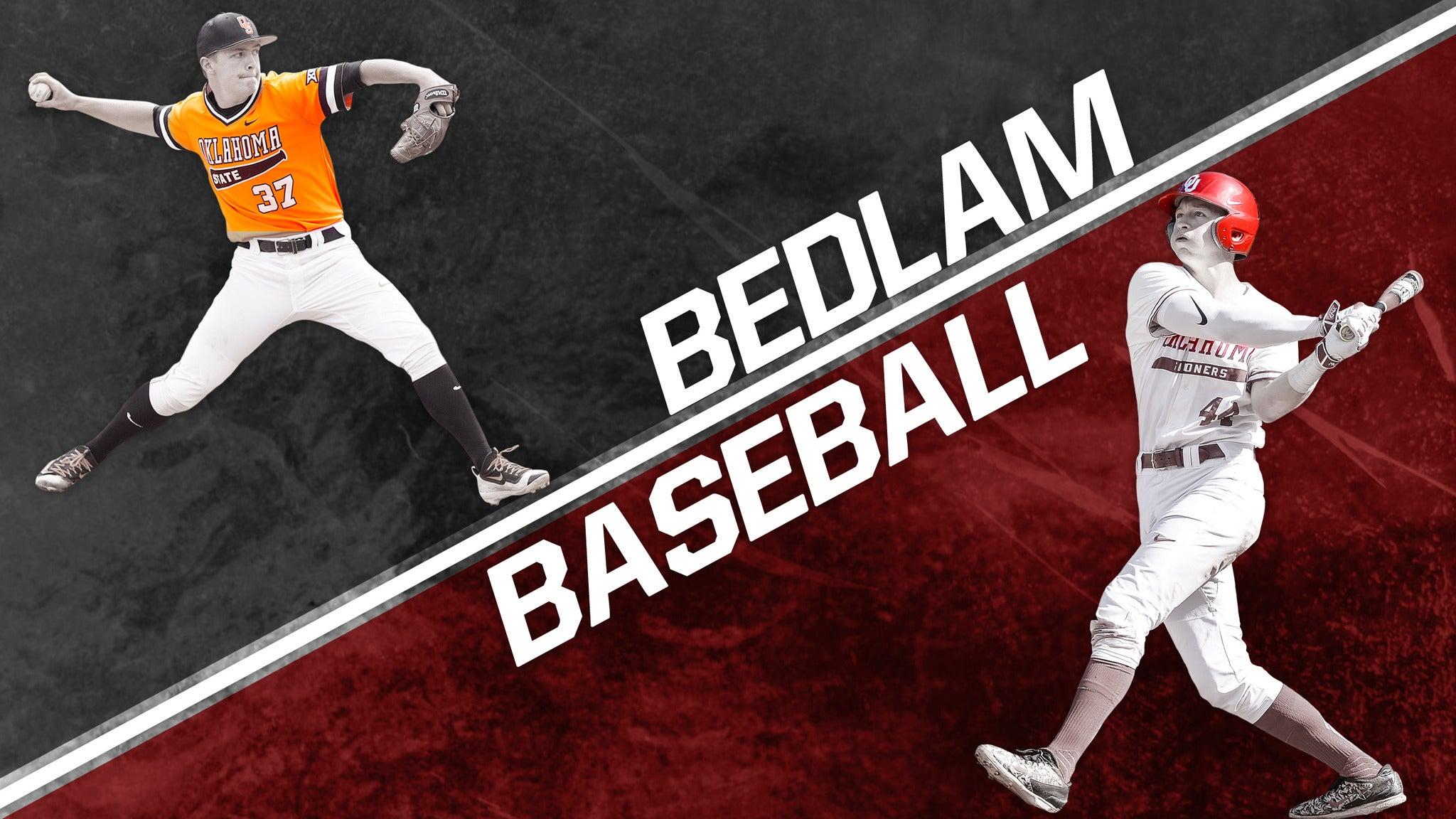Bedlam Baseball vs. Oklahoma State University Baseball