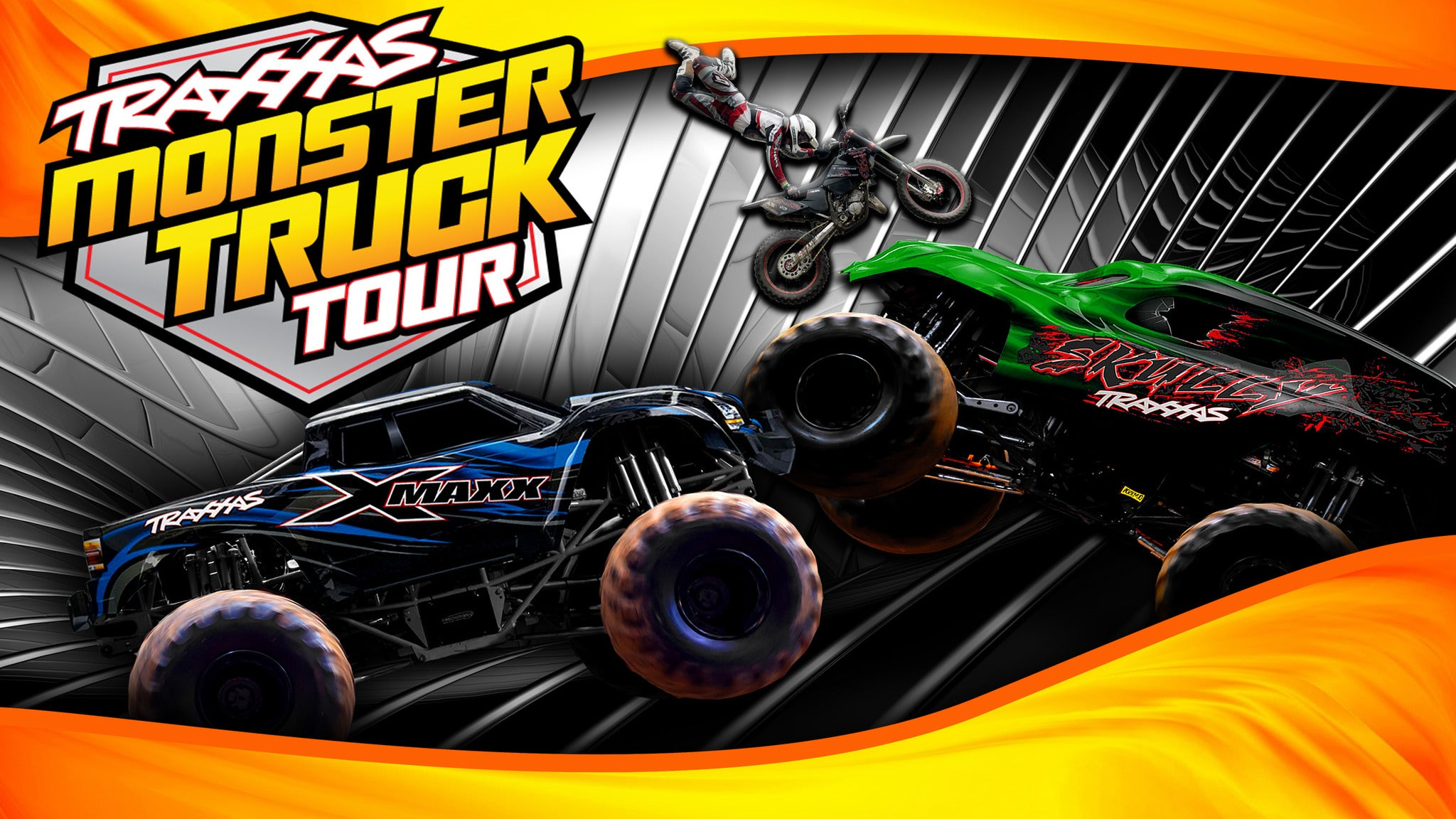 Traxxas Monster Truck Tour at Five Flags Center