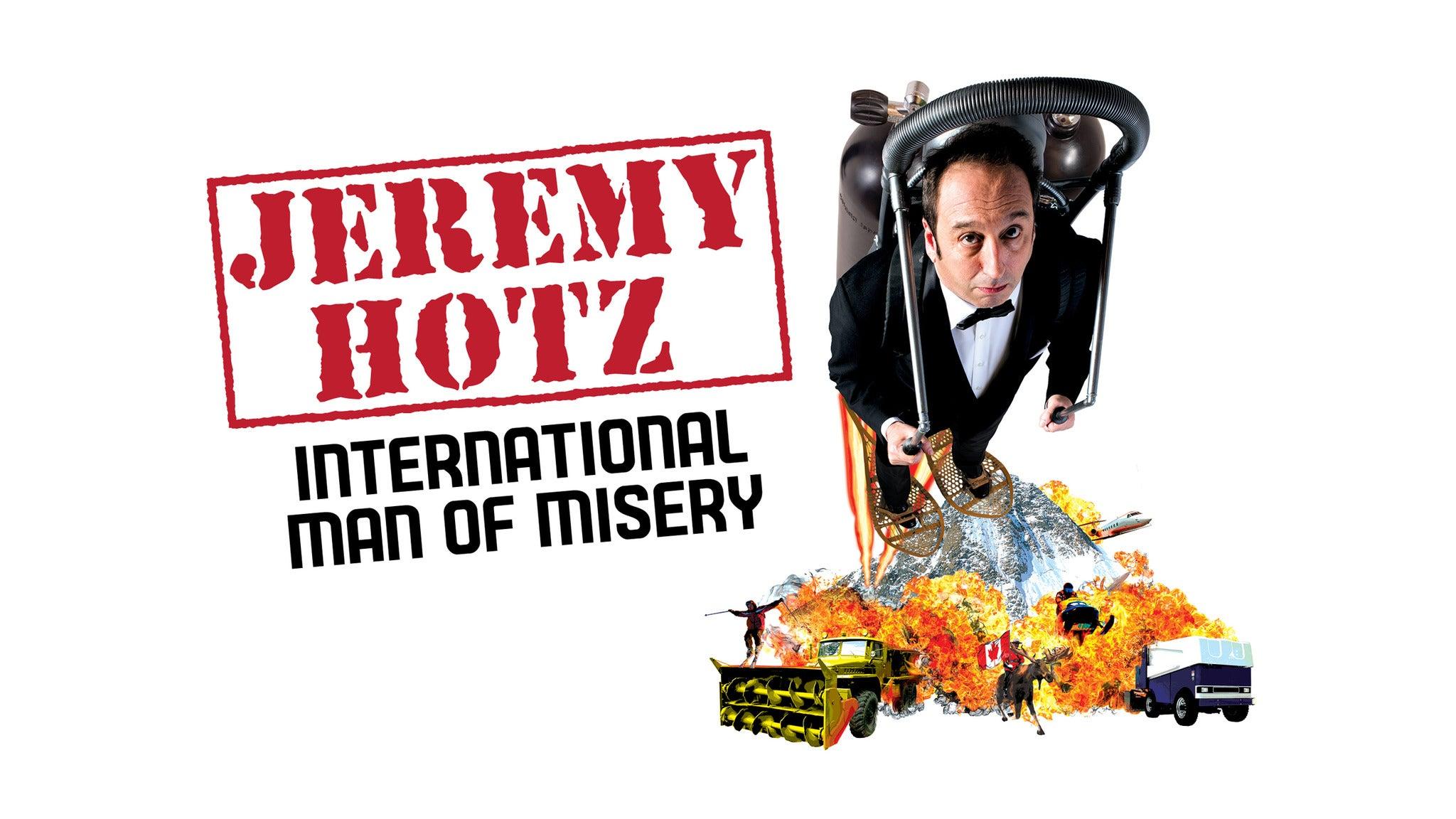 Jeremy Hotz at Irvine Improv