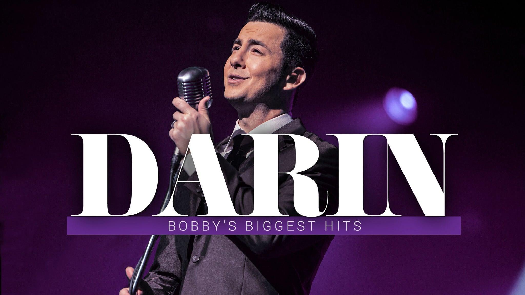 DARIN: Bobby's Biggest Hits starring Christopher Kale Jones