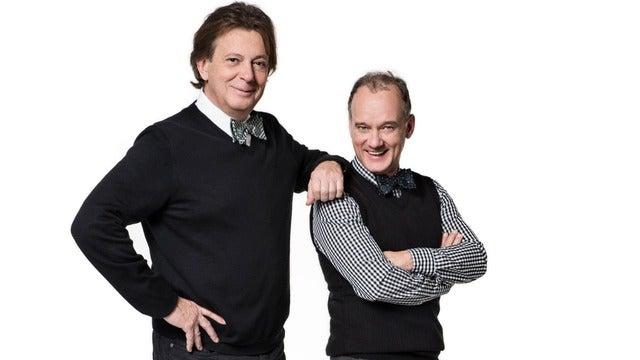 Daniel Lemire et Pierre Verville