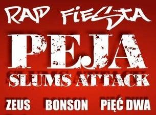 RAP FIESTA: PEJA/Slums Attack, Zeus, Bonson, Pięć Dwa, 2021-02-27, Краков