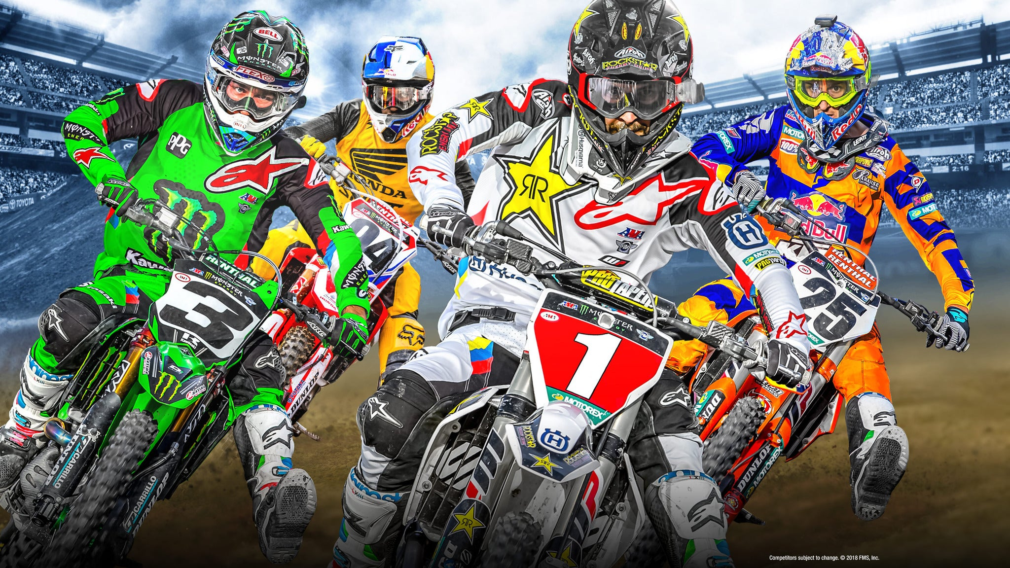 AMA Supercross at Metrapark Grandstands