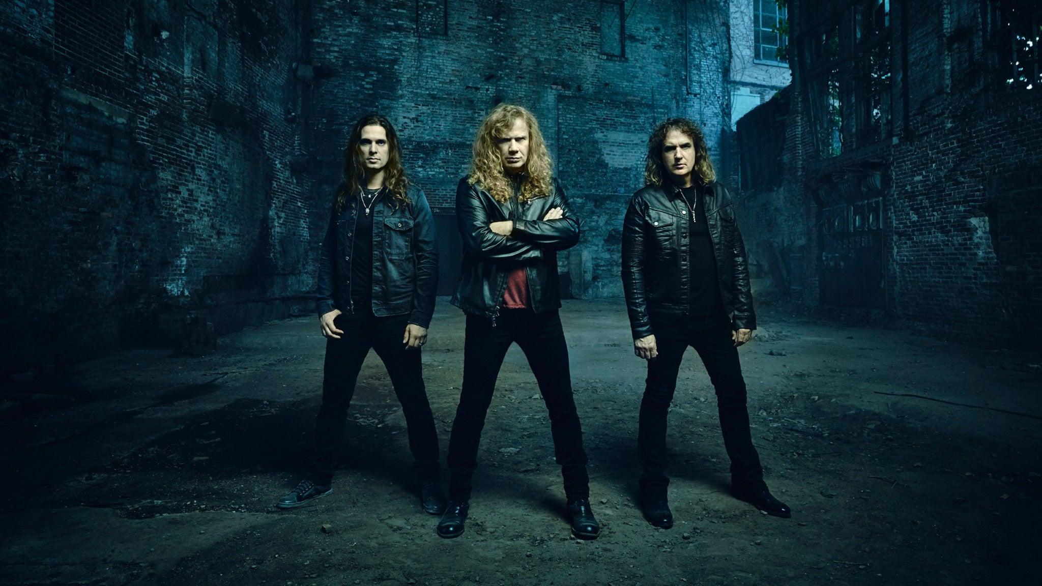 Megadeth at DCU Center