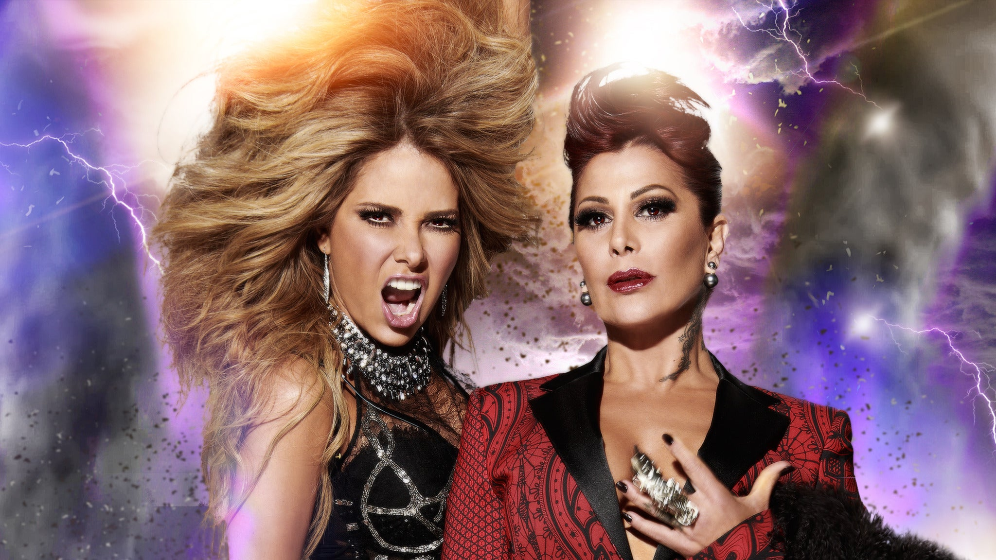 Gloria Trevi vs Alejandra Guzman at AmericanAirlines Arena