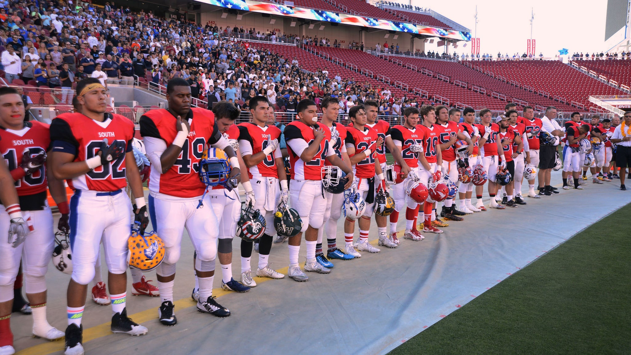 Charlie Wedemeyer Allstar Football Game at Levi's® Stadium