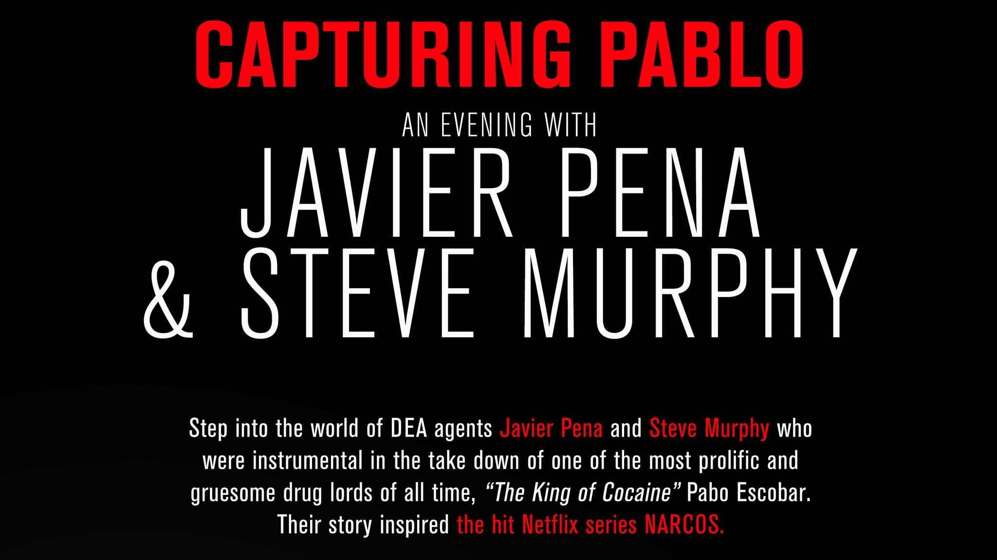 Capturing Pablo at Paramount Theatre-Colorado
