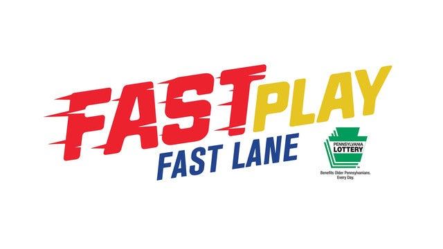 PA Lottery Fast Play Fast Lane