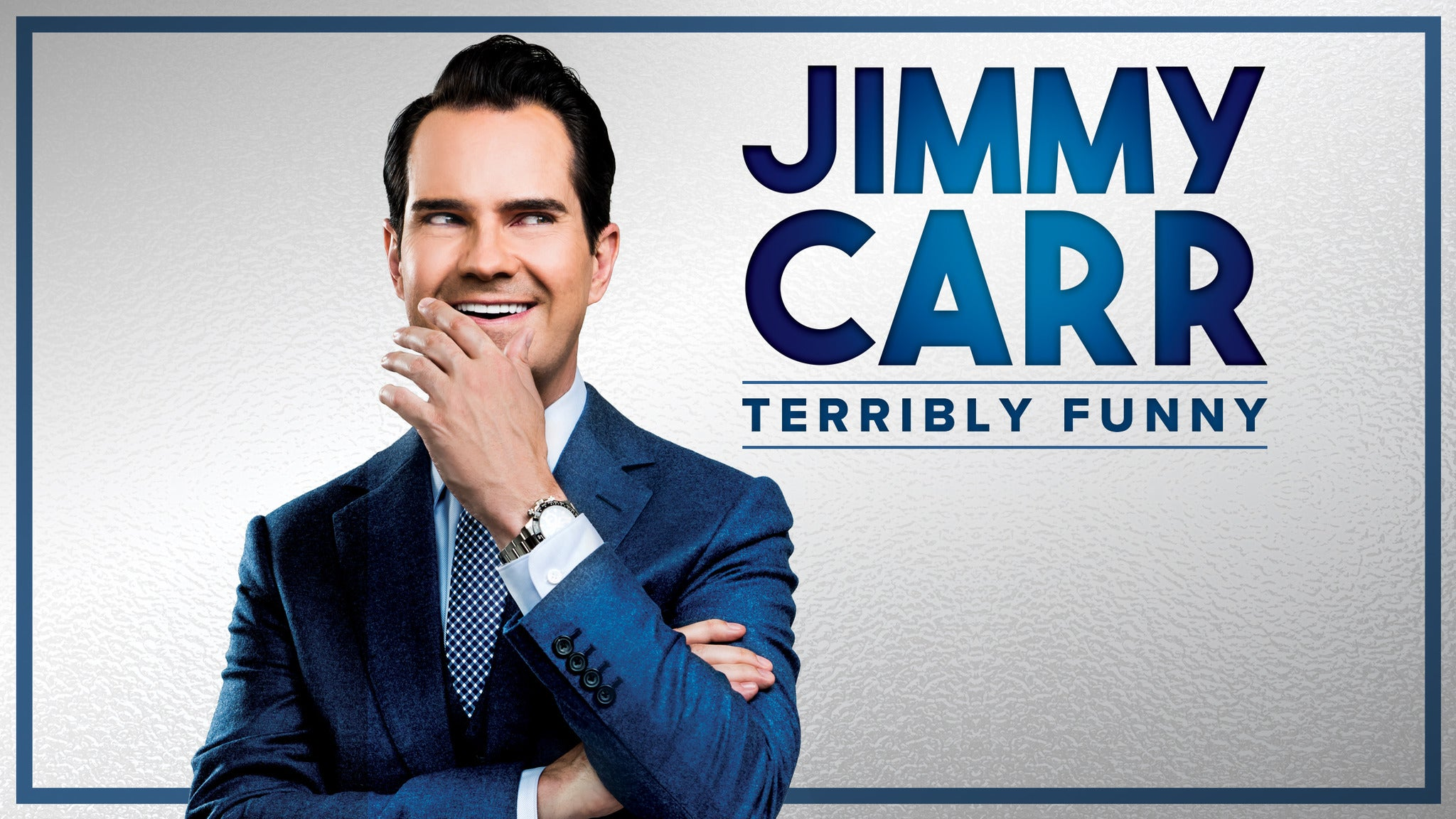 Jimmy Carr Terribly Funny tickets (Copyright © Ticketmaster)