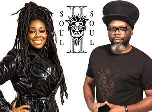 Image used with permission from Ticketmaster | Soul II Soul tickets