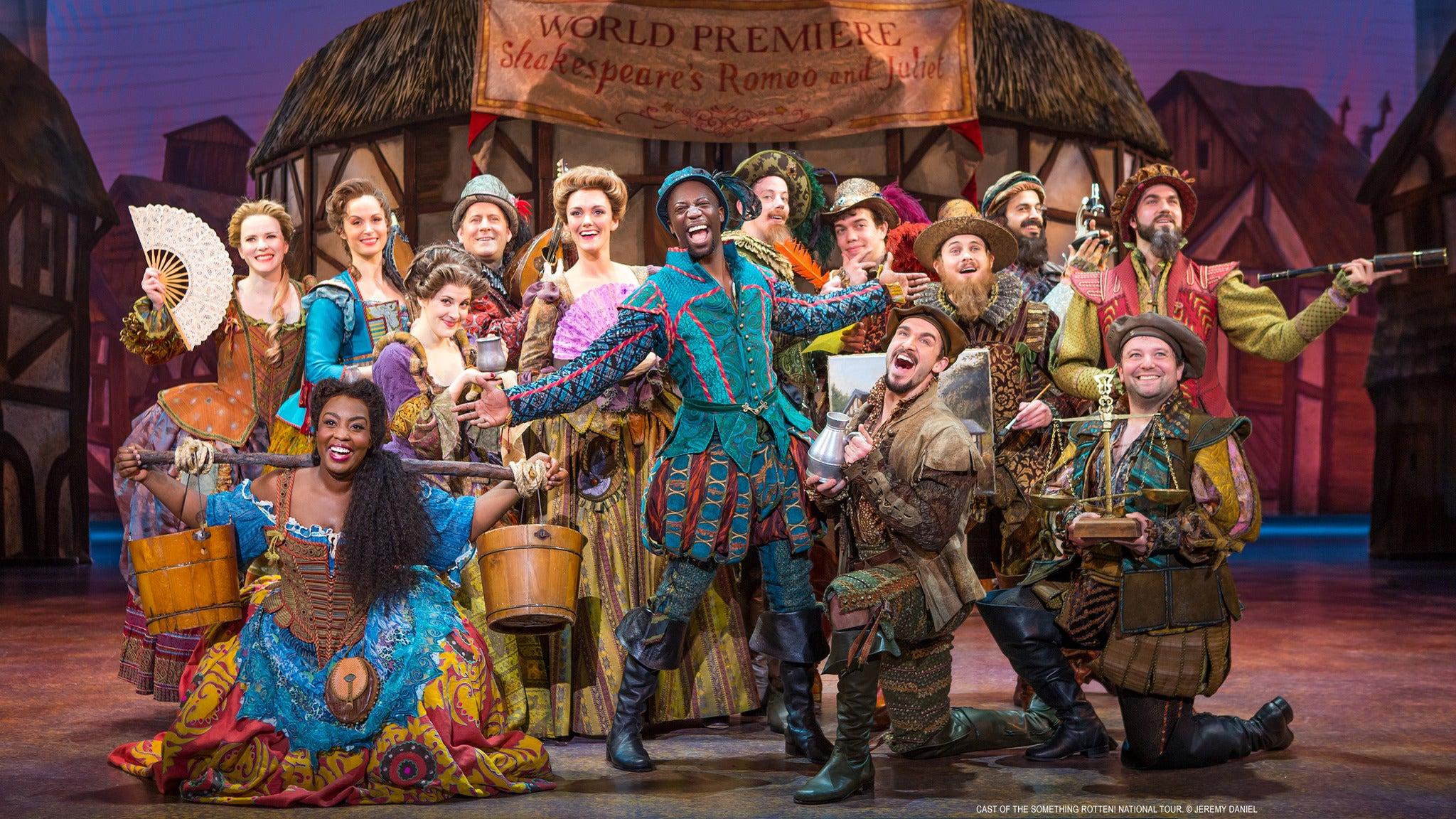 Something Rotten! at Ahmanson Theatre - Los Angeles, CA 90012