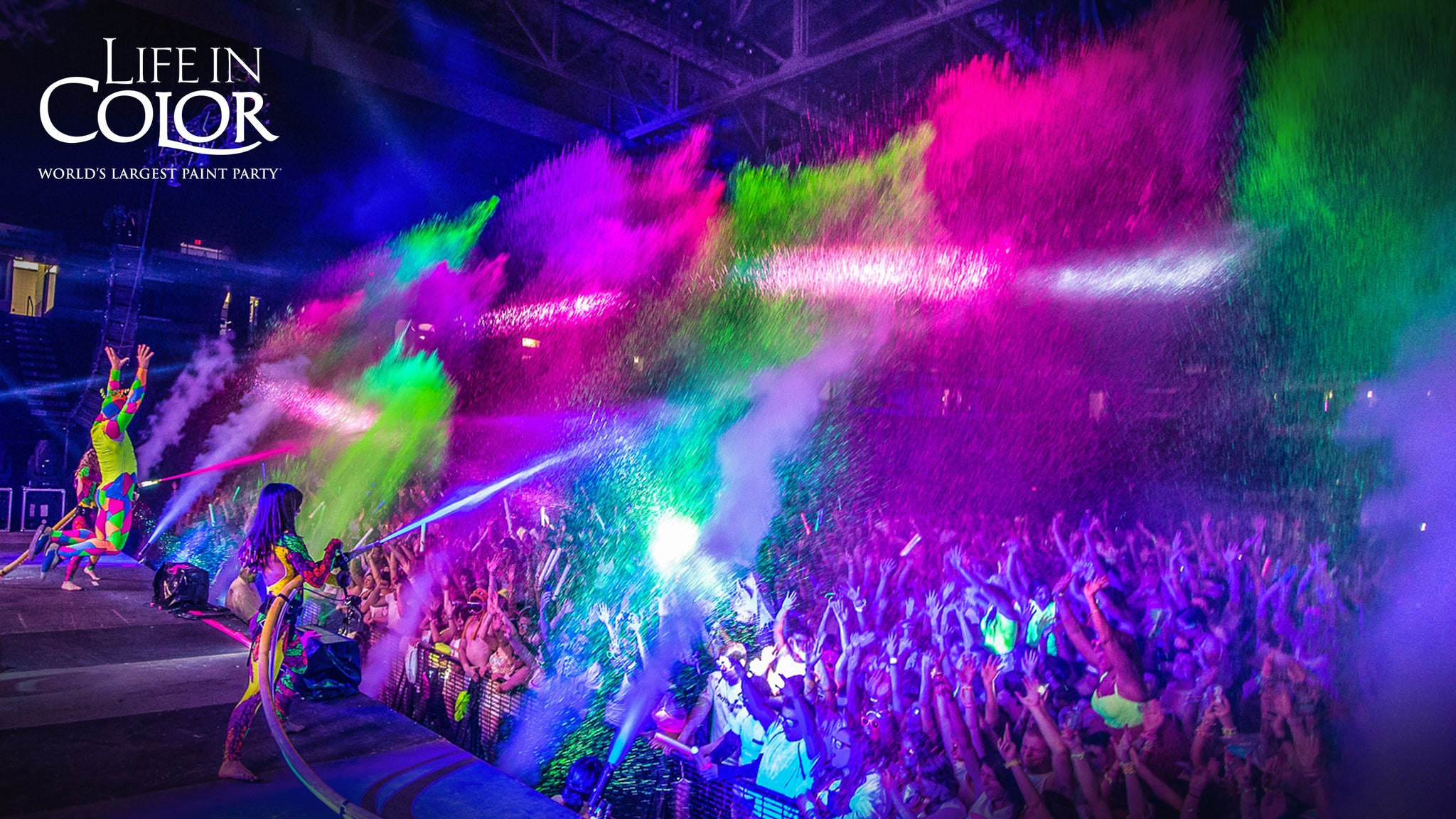 Life In Color at Fresno Convention Center
