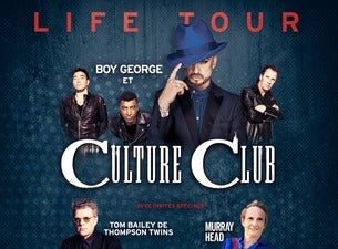 Boy George And Culture Club And Thompson Twins' Tom Bailey
