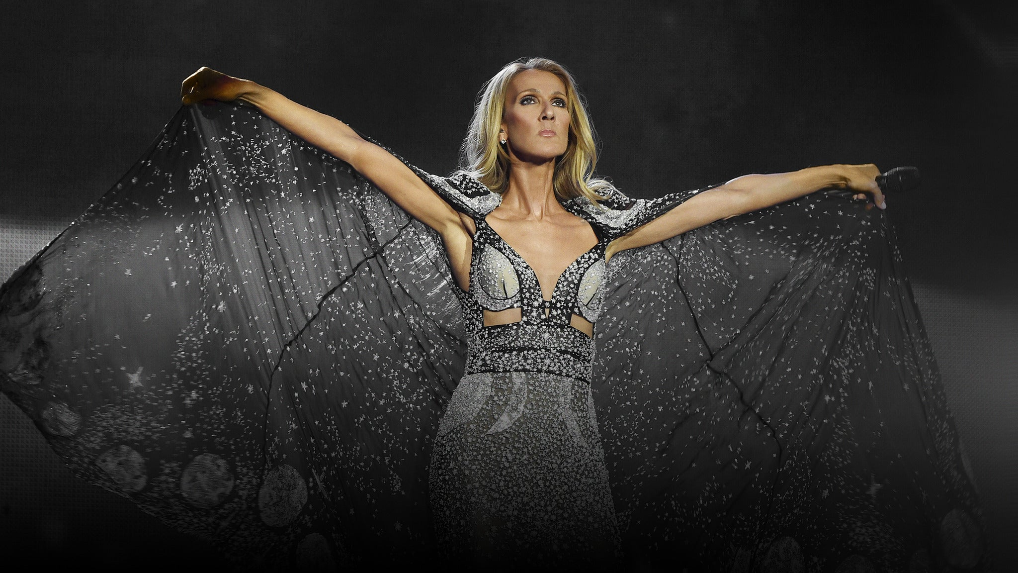 Celine Dion tickets (Copyright © Ticketmaster)