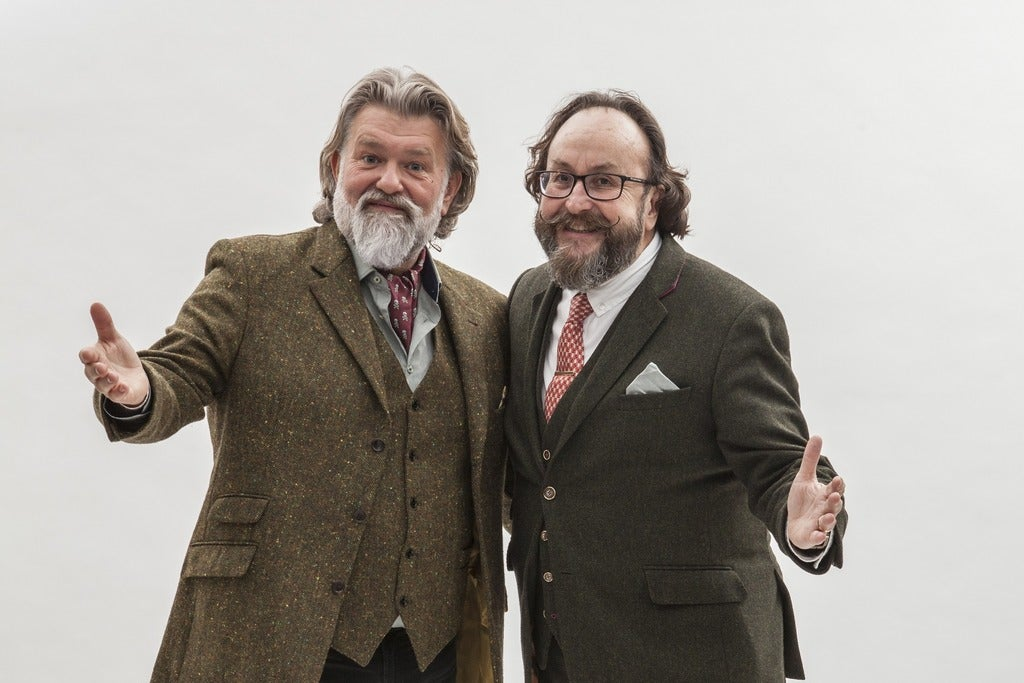 An Evening with the Hairy Bikers Bridgewater Hall Seating Plan