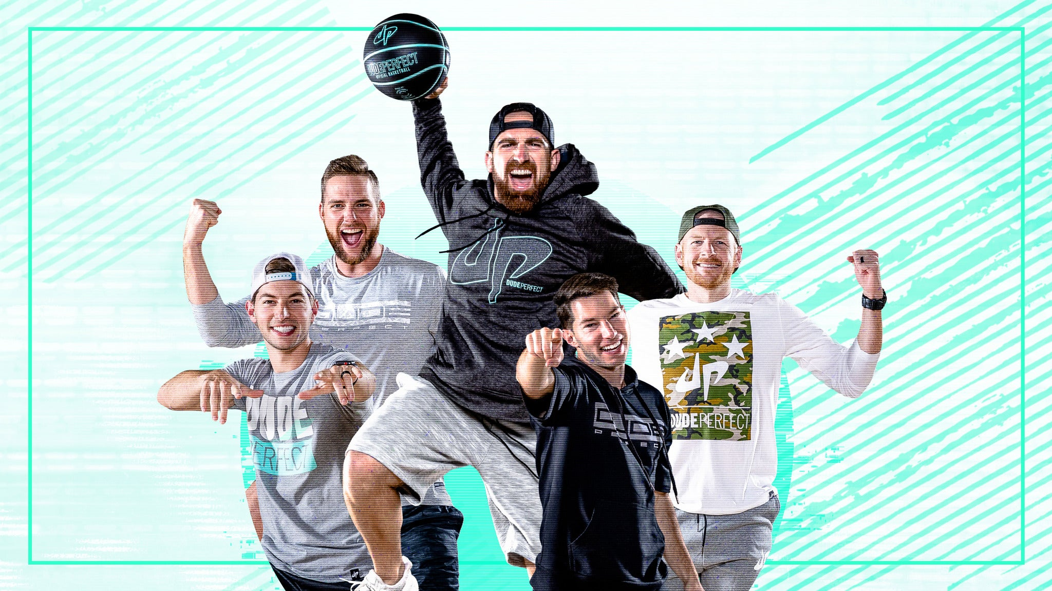 The Dude Perfect Pound It Noggin Tour