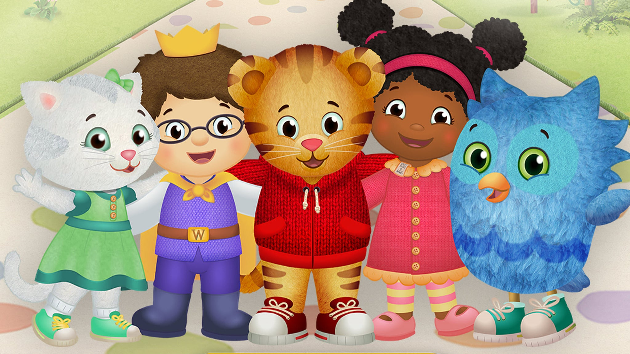 Daniel Tiger's Neighborhood at Budweiser Events Center