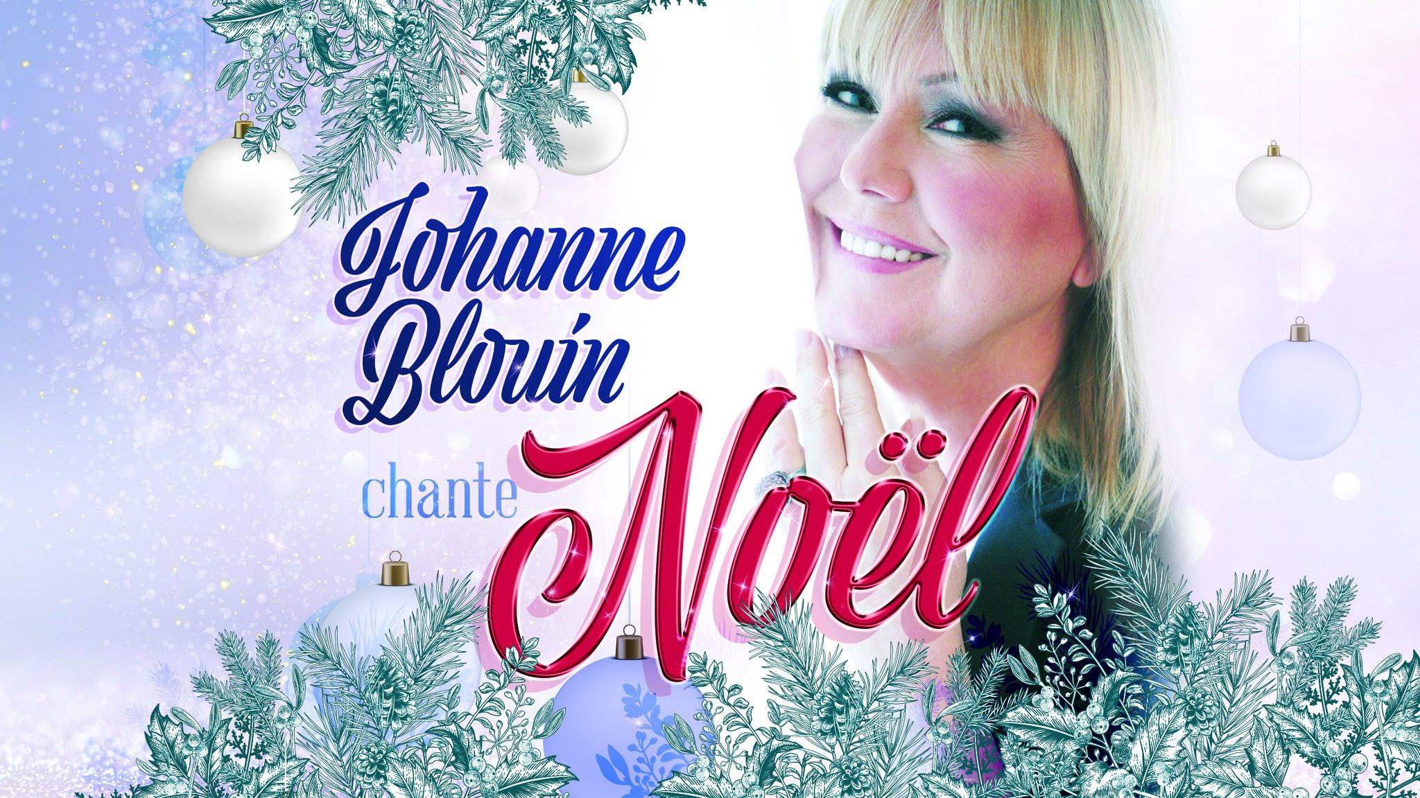 Johanne Blouin Chante Noel tickets (Copyright © Ticketmaster)