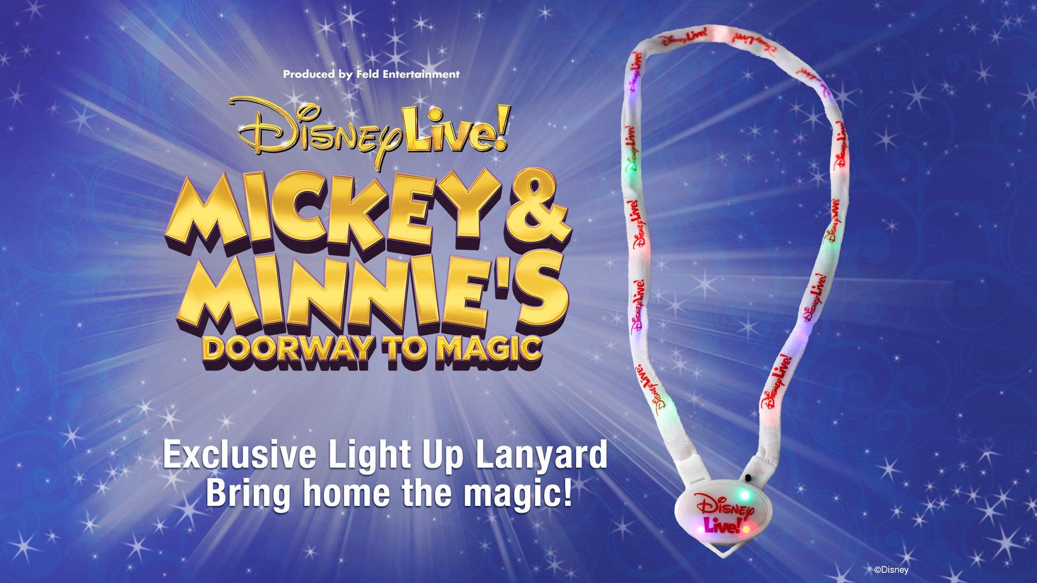 Disney Live! Mickey & Minnie's Doorway to Magic Light-Up Lanyard