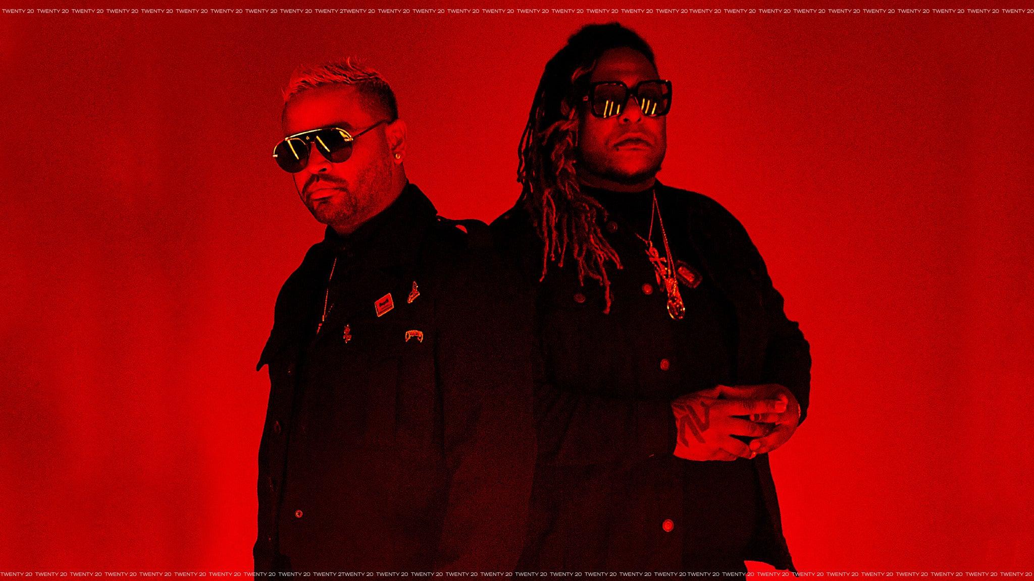 Zion & Lennox - Iconic Usa Tour 2020 at EagleBank Arena
