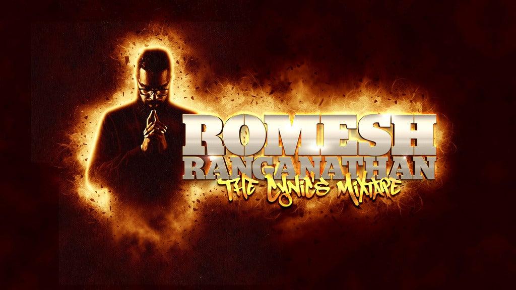 Romesh Ranganathan - the Cynic's Mixtape Seating Plans