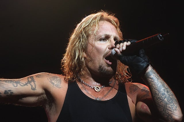 Vince Neil at Resorts Atlantic City