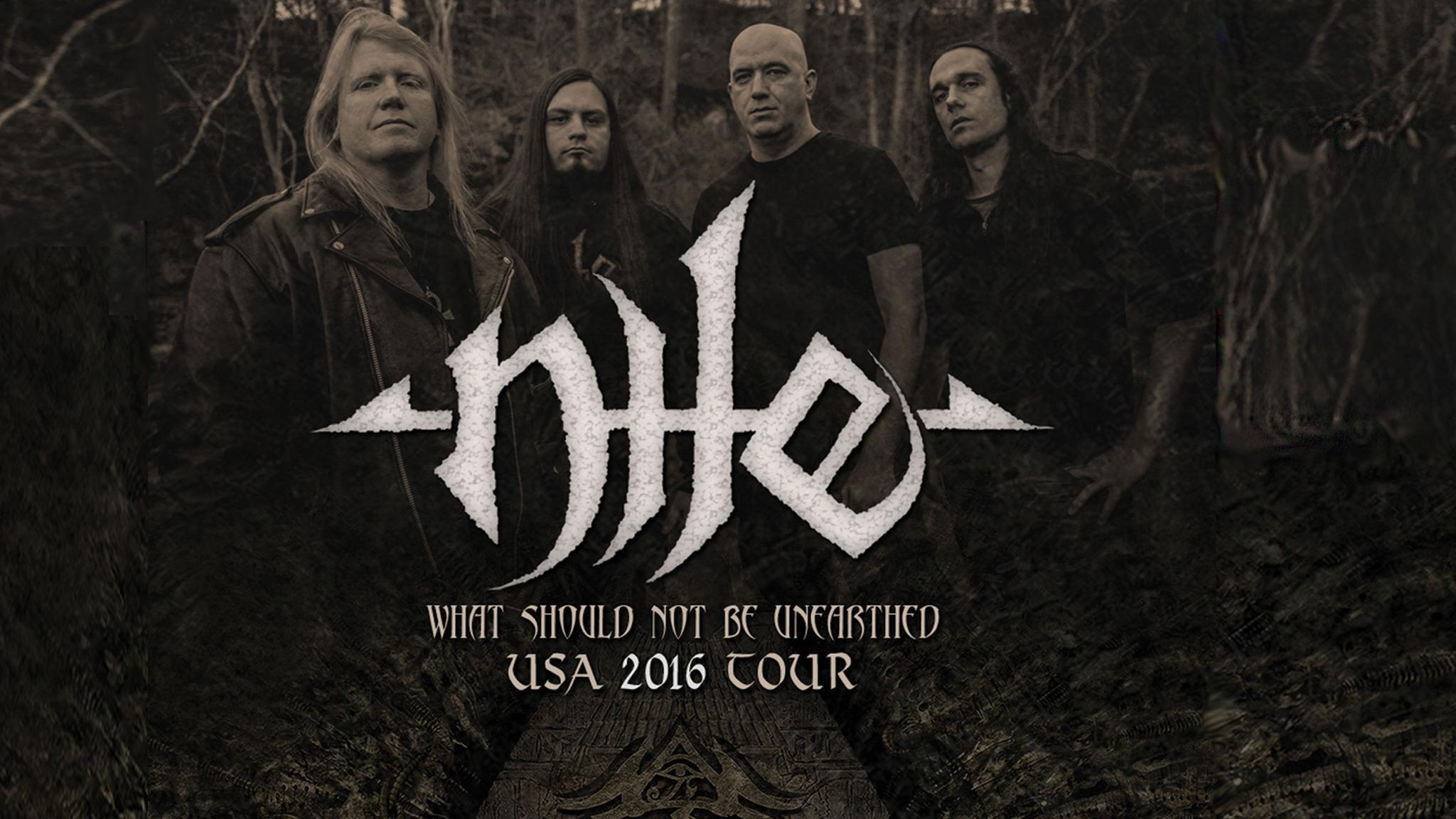 Nile, Soulfly, God Dementia, Orinoco, Beneath the Hollow