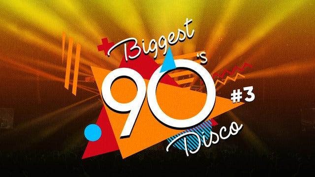 Biggest 90s Disco 3Arena Seating Plan