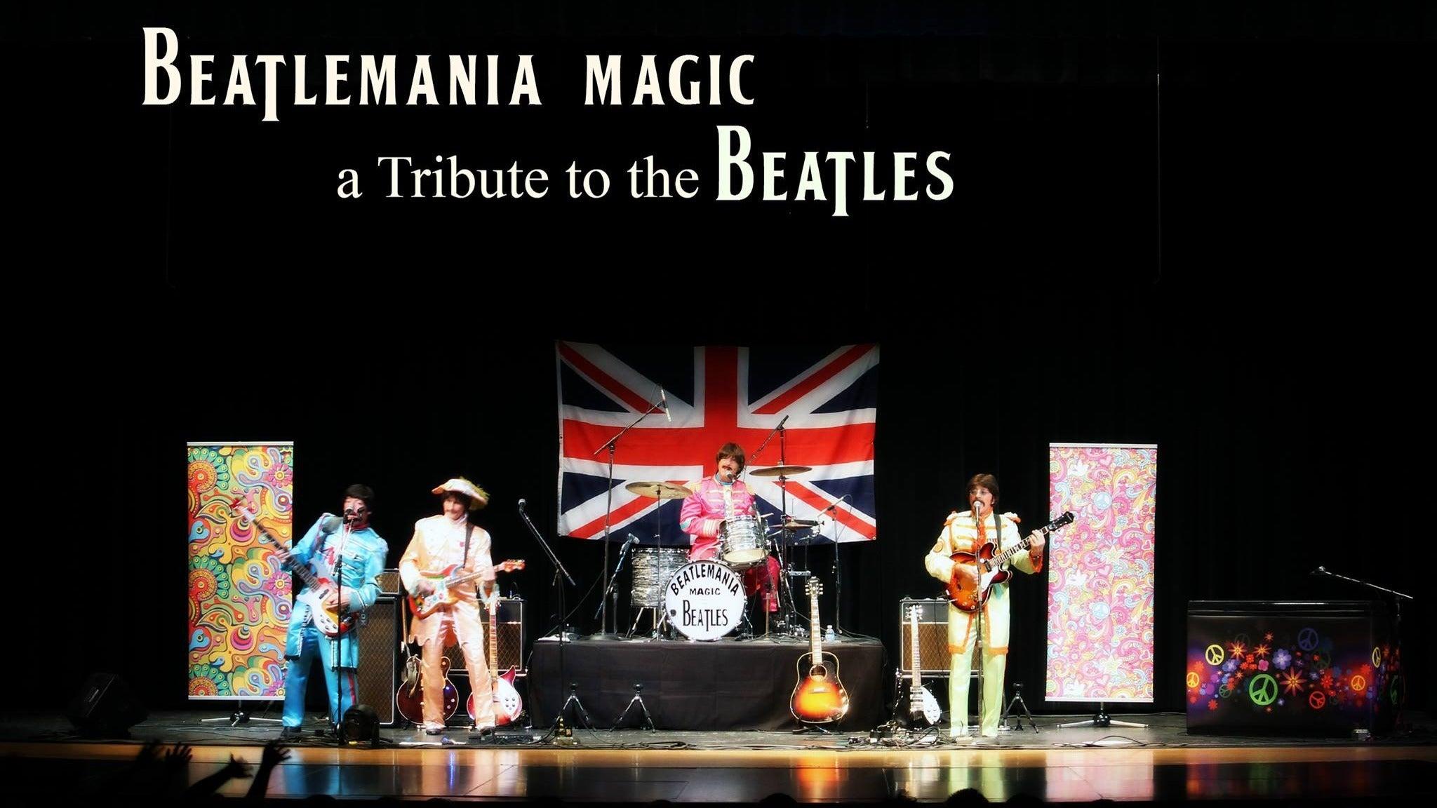 Beatlemania Magic at Wheeling Island Showroom