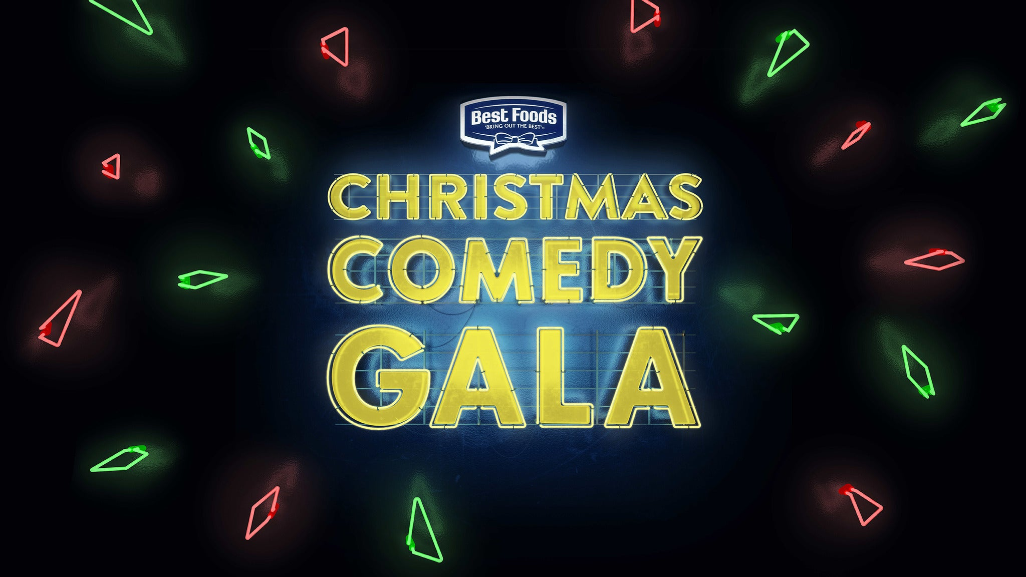 Best Foods Christmas Comedy Gala tickets (Copyright © Ticketmaster)
