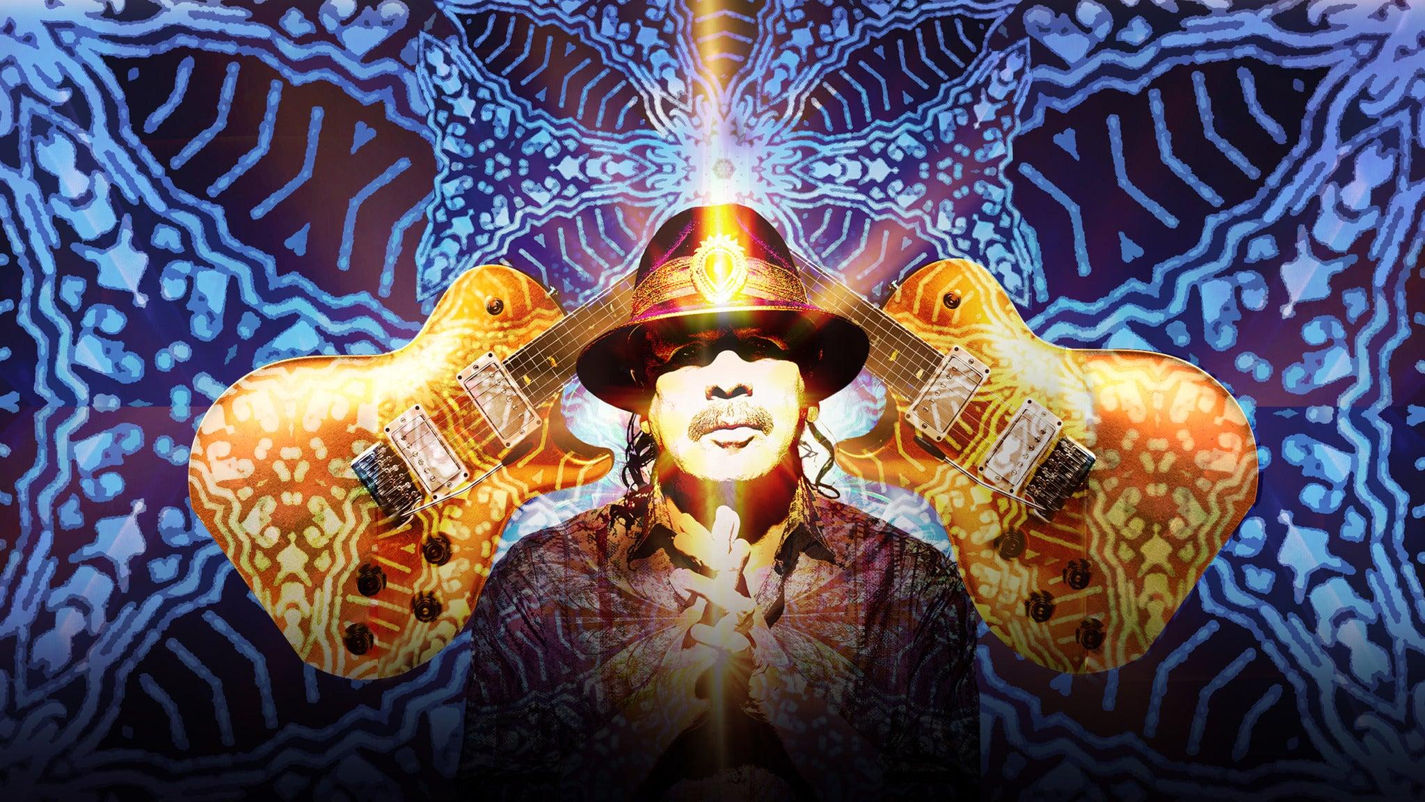 Santana: Miraculous Supernatural 2021 Tour - Uncasville, CT 06382