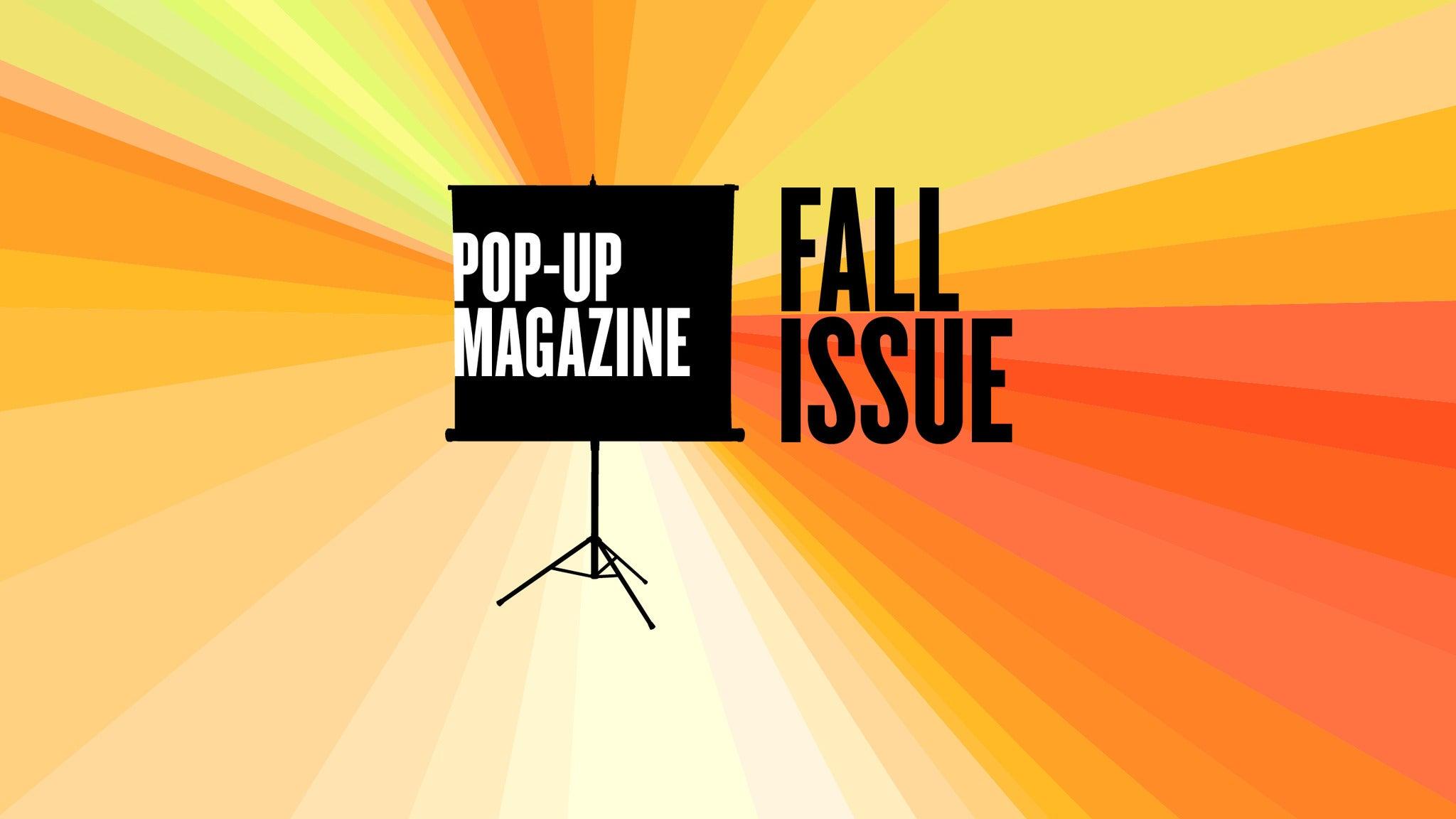Pop-Up Magazine at Ogden Theatre - Denver, CO 80218